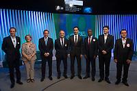 SÃO PAULO, SP, 02.10.2018 - ELEIÇÕES-2018 - Candidatos ao Governo do Estado de São Paulo, durante o debate na Rede Globo, nesta terça-feira, 02, em São Paulo.(Foto: Levi Bianco/Brazil Photo Press)