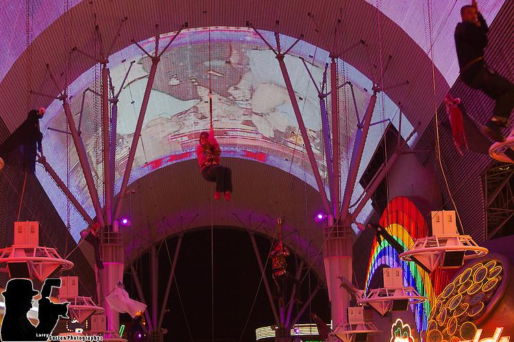 Fremont Street Experience Las Vegas,  new  Zip Line adventure