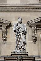Jean Froissart, 1337 - 1405, chronicler of medieval France, Louvre Museum, Paris, France Picture by Manuel Cohen