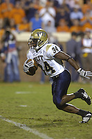 29 September 2007:  Pitt RB LaRod Stephens-Howling (34)..The Virginia Cavaliers defeated the Pittsburgh Panthers 44-14 September 29, 2007 at Scott Stadium in Charlottesville, VA..