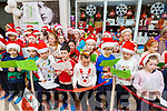 Students from the Currow NS singing at the Garveys Christmas Food Fair in Castleisland on Tuesday night.