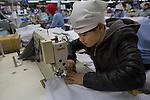 Clothing factory, Hanoi, Vietnam