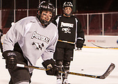 Scott Conway (PC - 10) - The Providence College Friars practiced on the rink at Fenway Park on Friday, January 6, 2017.