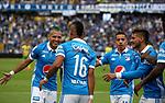 Millonarios venció como local 2-0 a Atlético Huila. Fecha 15 Liga Águila I-2017.