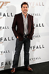Actors Javier Bardem attends 'Skyfall' photocall on October 29, 2012 in Madrid, Spain. .(ALTERPHOTOS/Harry S. Stamper)