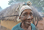 A woman in Dundube Kadambo, in northern Malawi.