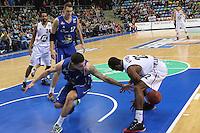 Konstantin Klein (Skyliners) gegen Antonio Graves (Artland) - Fraport Skyliners vs. Artland Dragons Quakenbrueck, Fraport Arena Frankfurt