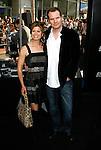 """HOLLYWOOD, CA. - April 30: Jack Coleman and wife arrives at the Los Angeles premiere of """"Star Trek"""" at the Grauman's Chinese Theater on April 30, 2009 in Hollywood, California."""