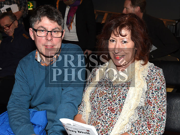 Sean Sunne and Georgina Bell-Dunne at the Stagemad Theatre Company's production of 'Foxy Divil' at The Little Duke Theatre. Photo:Colin Bell/pressphotos.ie