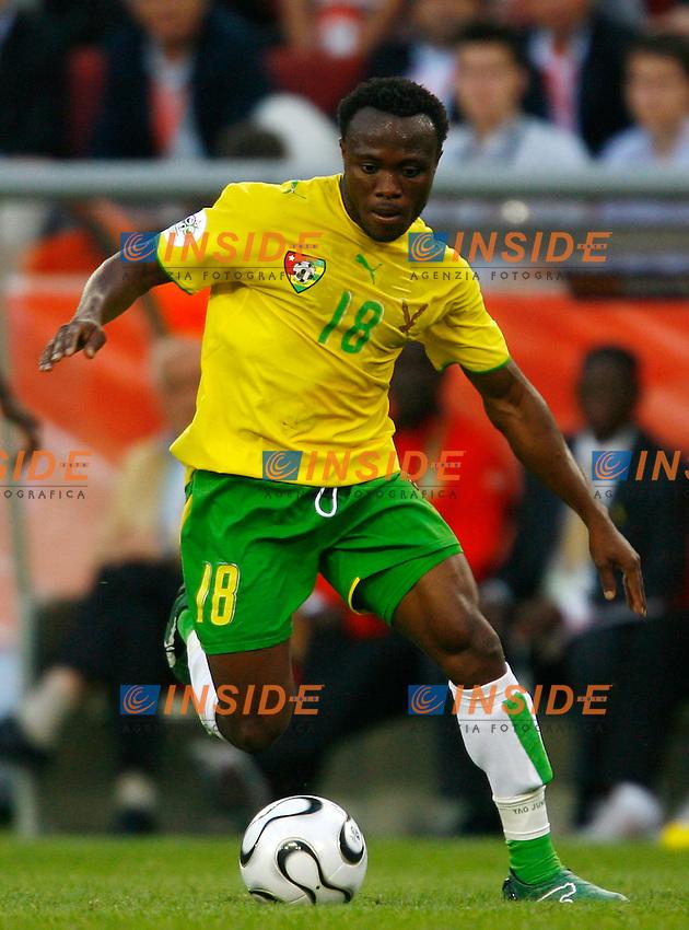 Colonia 23/6/2006 World Cup 2006.Togo Francia 0-2.Photo Andrea Staccioli Insidefoto.Yao Junior Togo