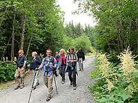Hike to Caine's Head Resurrection Bay on Kenai Peninsula, Pacific Horticulture tour of Alaska