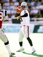 Damon Allen BC Lions quarterback. Photo F. Scott Grant