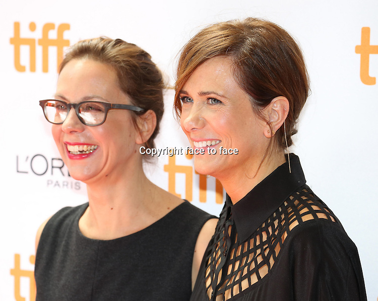 Liza Johnson &amp; Kristen Wiig attending the 2013 Tiff Film Festival Red Carpet arrivals for &quot;Hateship Loveship&quot; at Princess of Wales Theatre on September 6, 2013 in Toronto, Canada.<br />
