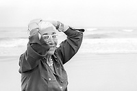 Lina Wertmüller (born 14 August 1928) is an Italian screenwriter and film director. She was the first woman nominated for an Academy Award for Best Director for Seven Beauties in 1977. Vieste 24 july 1999. © Leonardo Cendamo