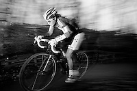Sanne Cant (BEL/BKCP-Powerplus) leading the way<br /> <br /> Flandriencross Hamme 2014