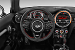 Car pictures of steering wheel view of a2015 MINI Mini John Cooper Works 3 Door Hatchback Steering Wheel