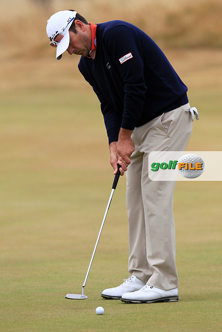 Ben CURTIS (USA) during round 4 of  The 142th Open Championship Muirfield, Gullane, East Lothian, Scotland 21/7/2013<br /> Picture Eoin Clarke www.golffile.ie: