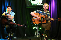 BALA CYWYD, PA - APRIL 9 : Swmrs visit Radio 104.5 studio in Bala Cynwyd, Pa April 9, 2019  <br /> CAP/MPI09<br /> &copy;MPI09/Capital Pictures