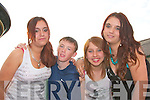 Waiting for the doors to open for the KDYS disco at the Klub in Listowel on Friday night were, Sara Magdzicek, Athea, Eddy Joe Walsh, Susan Gorzalczynska, Listowel, Kamila Magdzialc, Athea...   Copyright Kerry's Eye 2008