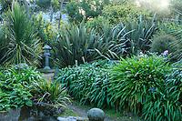 France, Manche (50), Vauville, Jardin botanique du château de Vauville, Jardin de la Sagesse