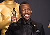 26.02.2017; Hollywood, USA: MAHERSHALA ALI<br /> Clutching their Awards - The OSCARs winners, backstage with their awards at the 89th Annual Academy Awards at the Dolby&reg; Theatre in Hollywood.<br /> Mandatory Photo Credit: &copy;AMPAS/Newspix International<br /> <br /> IMMEDIATE CONFIRMATION OF USAGE REQUIRED:<br /> Newspix International, 31 Chinnery Hill, Bishop's Stortford, ENGLAND CM23 3PS<br /> Tel:+441279 324672  ; Fax: +441279656877<br /> Mobile:  07775681153<br /> e-mail: info@newspixinternational.co.uk<br /> Usage Implies Acceptance of Our Terms &amp; Conditions<br /> Please refer to usage terms. All Fees Payable To Newspix International