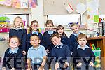Glenbeigh NS Junior Infants 2016<br /> Front Row<br /> L-R M&Egrave;abh O'Sullivan, Sam O'Shea, Darragh Caulfield, Cian McKeowan.<br /> Back Row<br /> L-R Patricia Slukan, R&Ucirc;isin Griffin, Ellie O'Shea, Rachel Griffin, Mollie O'Sullivan.