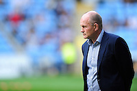 Bristol Rugby Director of Rugby Andy Robinson looks on during the pre-match warm-up. Aviva Premiership match, between Wasps and Bristol Rugby on September 18, 2016 at the Ricoh Arena in Coventry, England. Photo by: Patrick Khachfe / JMP
