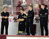 Justin Murphy (Boston College Senior Manager), Mike Feeley (Boston College - Student Manager), Kenny Ryan (Boston College Senior Manager), Stephen Greenberg (Boston College - Student Manager) - The University of Notre Dame Fighting Irish defeated the Boston College Eagles 4-1 on Friday, November 7, 2008, at Conte Forum in Chestnut Hill, Massachusetts.