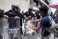 Protesta de CNTE en Televisa Chapultepec