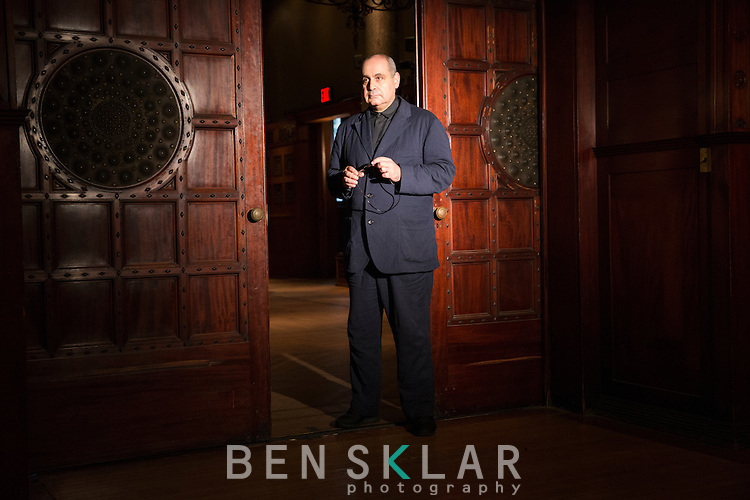 Pierre Audi, the new director of the Park Avenue Armory, on Monday, October 3, 2016.<br /> <br /> Ben Sklar for the New York Times