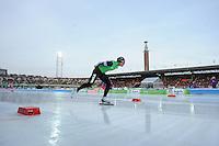 SCHAATSEN: AMSTERDAM: Olympisch Stadion, 02-03-2014, KPN NK Sprint/Allround, Coolste Baan van Nederland, Koen Verweij, ©foto Martin de Jong