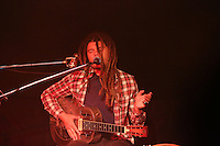 Ash Grunwald performing at The Corner Hotel, Melbourne, 9 June 2012