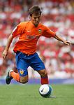 Valencia's David Silva..Pic SPORTIMAGE/Simon Bellis