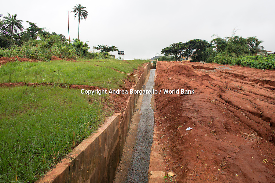 Nigeria, Anambra State, NEWMAP, World Bank Gully erosion