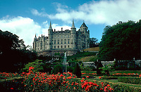 Dunrobin Castle. Golspie Sutherland Scotland highlands.
