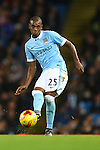 Fernandinho of Manchester City - Manchester City vs Hull City - Capital One Cup - Etihad Stadium - Manchester - 01/12/2015 Pic Philip Oldham/SportImage