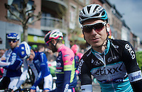 Tony Martin (DEU/Ettix-Quickstep) at the start<br /> <br /> 79th Fl&egrave;che Wallonne 2015