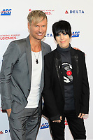 LOS ANGELES - JAN 24:  Brian Tyler, Diane Warren at the 2020 Muiscares at the Los Angeles Convention Center on January 24, 2020 in Los Angeles, CA