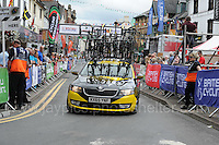 One of the emergency replacement cycle vehicles during the Abergavenny Festival of Cycling &quot;Grand Prix of Wales&quot; race on Sunday 17th 2016<br /> <br /> <br /> Jeff Thomas Photography -  www.jaypics.photoshelter.com - <br /> e-mail swansea1001@hotmail.co.uk -<br /> Mob: 07837 386244 -