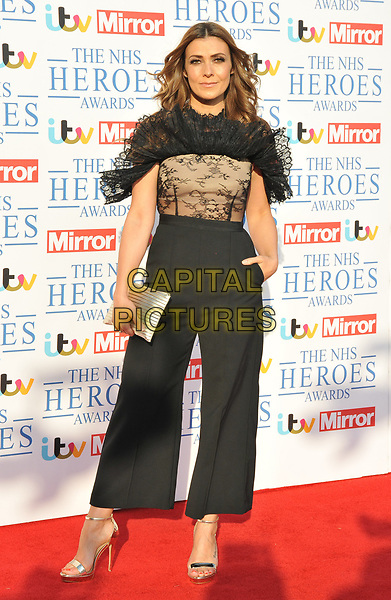 Kym Marsh at the NHS Heroes Awards 2018, London Hilton on Park Lane Hotel, Park Lane, London, England, UK, on Monday 14 May 2018.<br /> CAP/CAN<br /> &copy;CAN/Capital Pictures