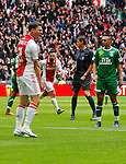 Nederland, Amsterdam, 15 april 2012.Eredivisie .Seizoen 2011-2012.Ajax-De Graafschap
