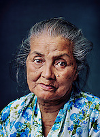 "Aminah (born 1929) was one of tens of thousands of 'comfort women' forced into prostitution by the Japanese military during World War II..As a 14-year-old girl, Aminah was forced into prostitution by a group of Japanese servicemen in charge of an ammunition factory where she worked. After work, she regularly was driven in a jeep to a hotel in the city and forced to have sex with several men. ""I was ashamed, but at the same time did wonder why, aside from rice, I also received clothes and pieces of fabric as wages, because the other girls didn't get that."" She never talked about it with other women factory workers. When she was allowed to go home for a night, she didn't mention it, either, to her sickly mother, a widow who would die during the war. At the end of the war, after being abused sexually for two years, she gained freedom. ""I was glad that the Japanese left, that I didn't have to work in the factory anymore, that I was free."" She moved in with an aunt, who nursed her for months because she had developed some kind of eczema. She married within a year, to a farmer in her village. When her husband died 10 years later, she didn't want to remarry because she already felt too old. She worked as a farm labourer to be able to send her children to school. ""Now my children feed me, and my daughter and her family live with me.""."