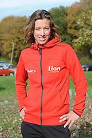 SCHAATSEN: HEERENVEEN: IJsstadion Thialf, 30-10-2012, Perspresentatie Team LiGA, Janneke Ensing, ©foto Martin de Jong