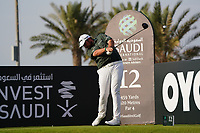 Shane Lowry (IRL) on the 12th during Round 2 of the Saudi International at the Royal Greens Golf and Country Club, King Abdullah Economic City, Saudi Arabia. 31/01/2020<br /> Picture: Golffile | Thos Caffrey<br /> <br /> <br /> All photo usage must carry mandatory copyright credit (© Golffile | Thos Caffrey)