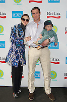 Devon Aoki, James Bailey and son Hunter at the 2012 Baby Buggy Bedtime Bash hosted by Jessica And Jerry Seinfeld on June 6, 2012 in New York City. © mpi44/MediaPunch Inc. ***NO GERMANY***NO AUSTRIA***