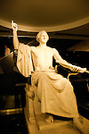 Smithsonian Museum of American History, Sculpture of Washington, Washington, DC, dc124456