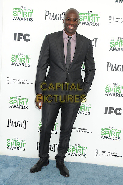 1 March 2014 - Santa Monica, California - Adewale Akinnuoye-Agbaje. 2014 Film Independent Spirit Awards - Arrivals held at Santa Monica Beach. <br /> CAP/ADM/BP<br /> &copy;Byron Purvis/AdMedia/Capital Pictures