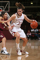 STANFORD, CA - JANUARY 28:  Jeanette Pohlen of the Stanford Cardinal during Stanford's 71-48 win over ASU on January 28, 2010 at Maples Pavilion in Stanford, California.