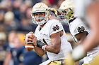 Nov. 7, 2015; Quarterback DeShone Kizer (14) looks to pass against Pitt. (Photo by Matt Cashore)