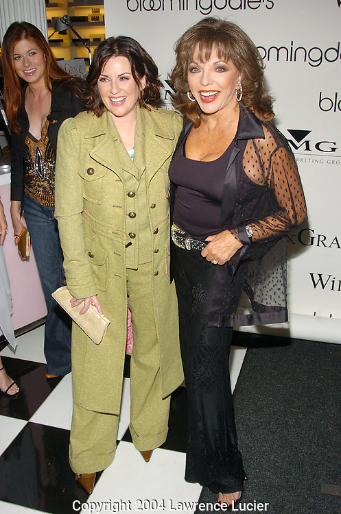 Megan Mullally, Joan Collins